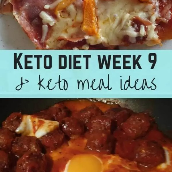 Diet progress and keto week 9
