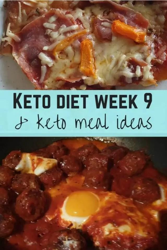 Keto week 9 meal ideas