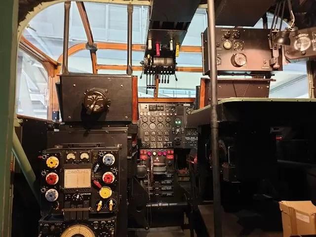 Yorke plane cockpit