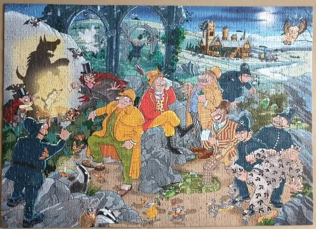 hound of the wasgij ville puzzle
