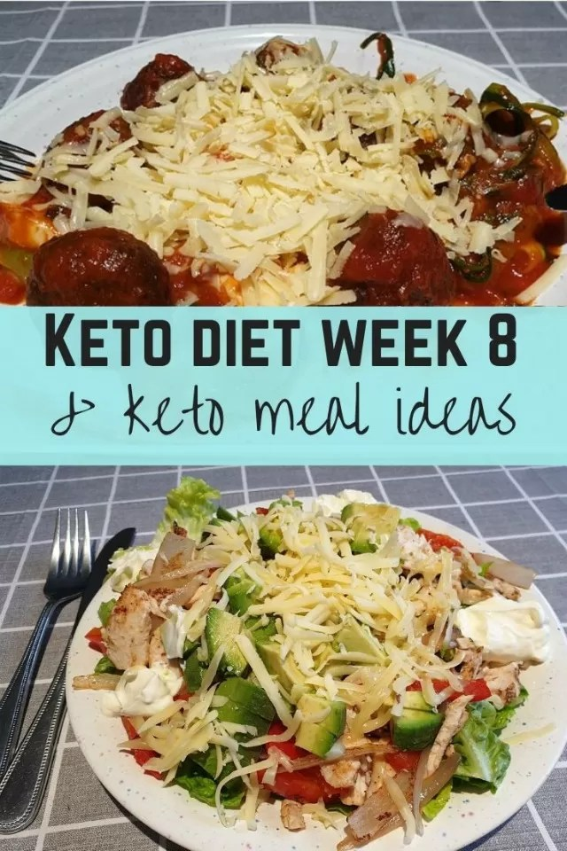keto diet week 8.