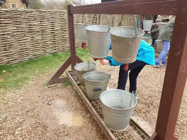 kids milking activity