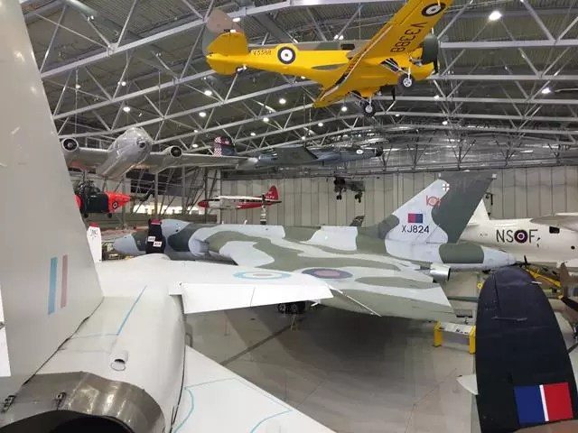 overlooking plane displays
