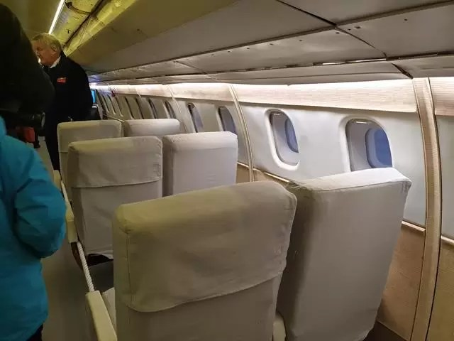 test seats on conrcorde