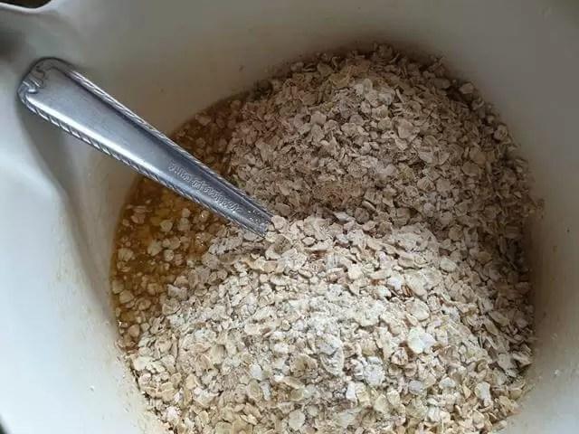 oats in butter and sgar
