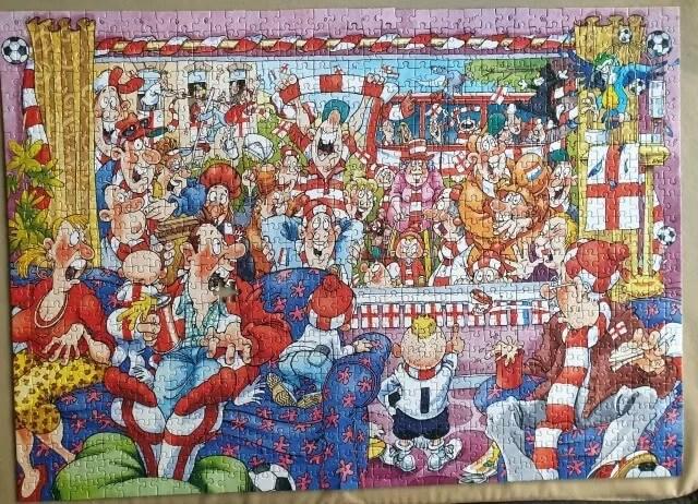 wasgij football fever jigsaw