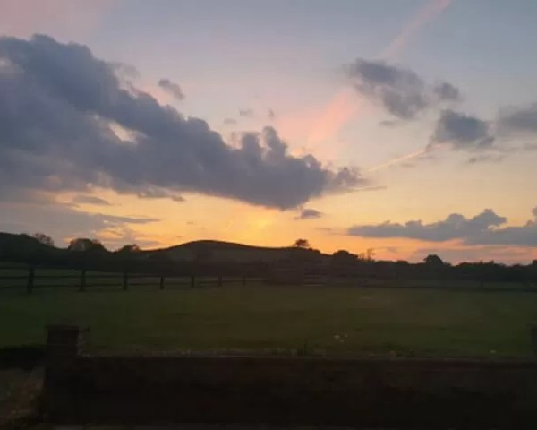 Project 52 2020 week 19 – sunset over the farm