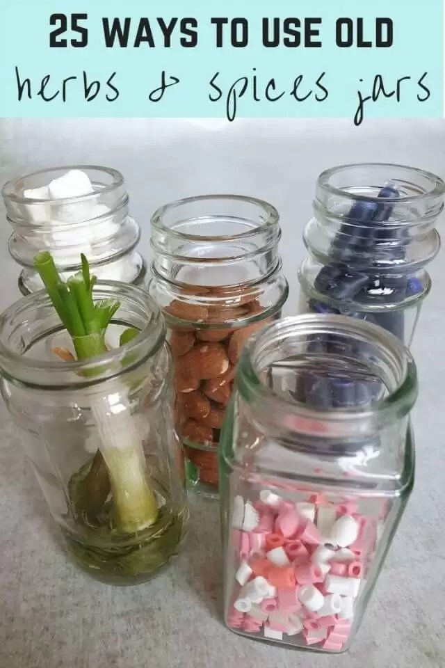 23 ways to use old herb and spice jars
