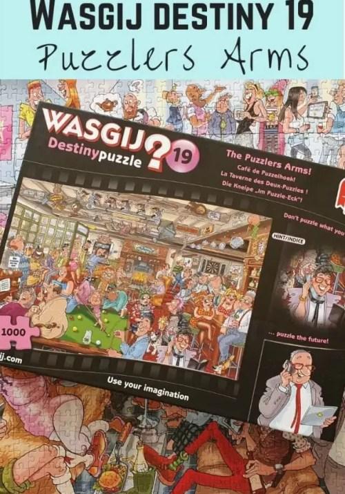 wasgij original 19 puzzlers arms