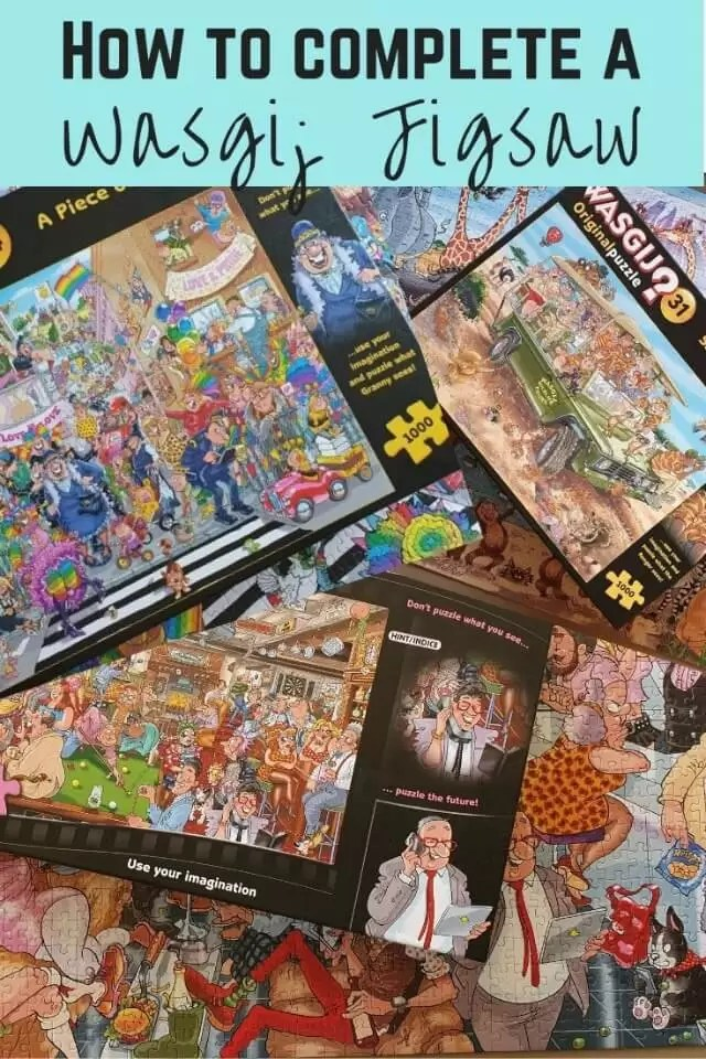 How to complete a Wasgij jigsaw puzzle