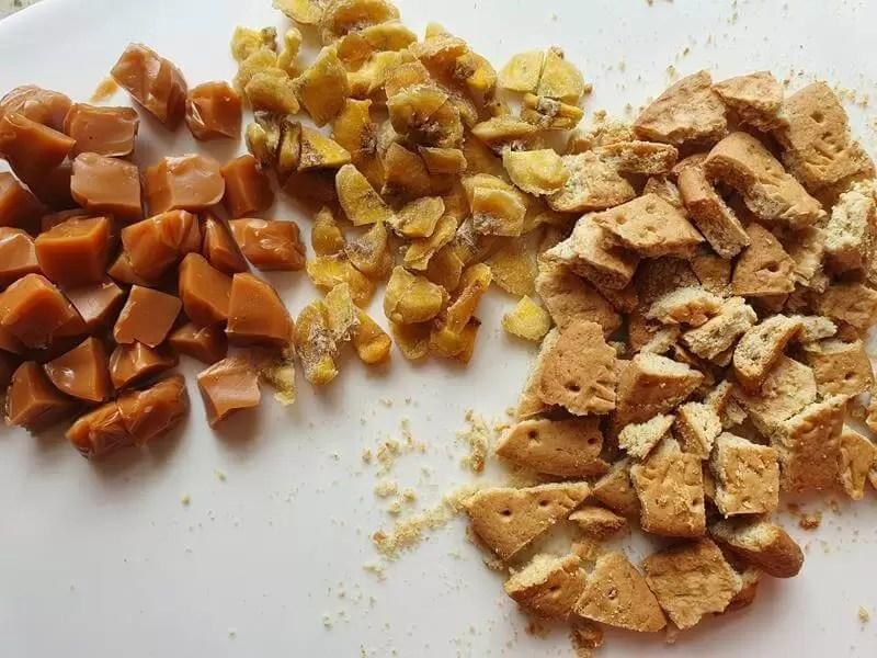 banoffee fudge iangredients