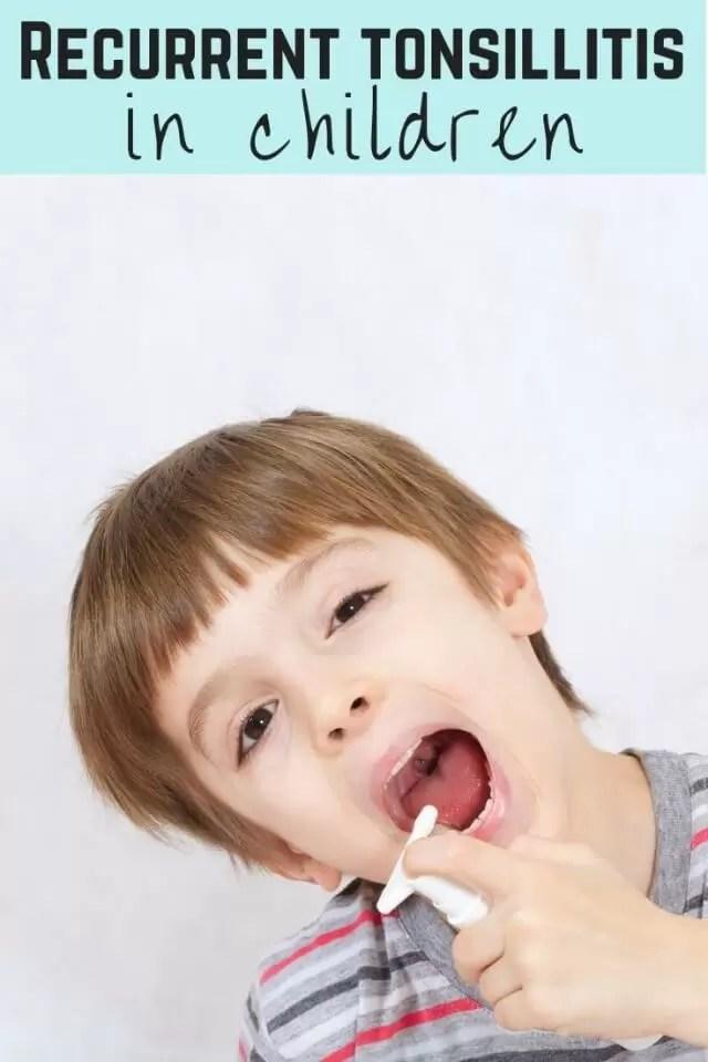 recurrent tonsillits