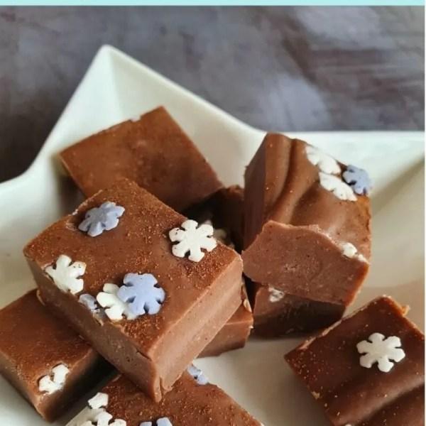 Easy microwave gingerbread fudge