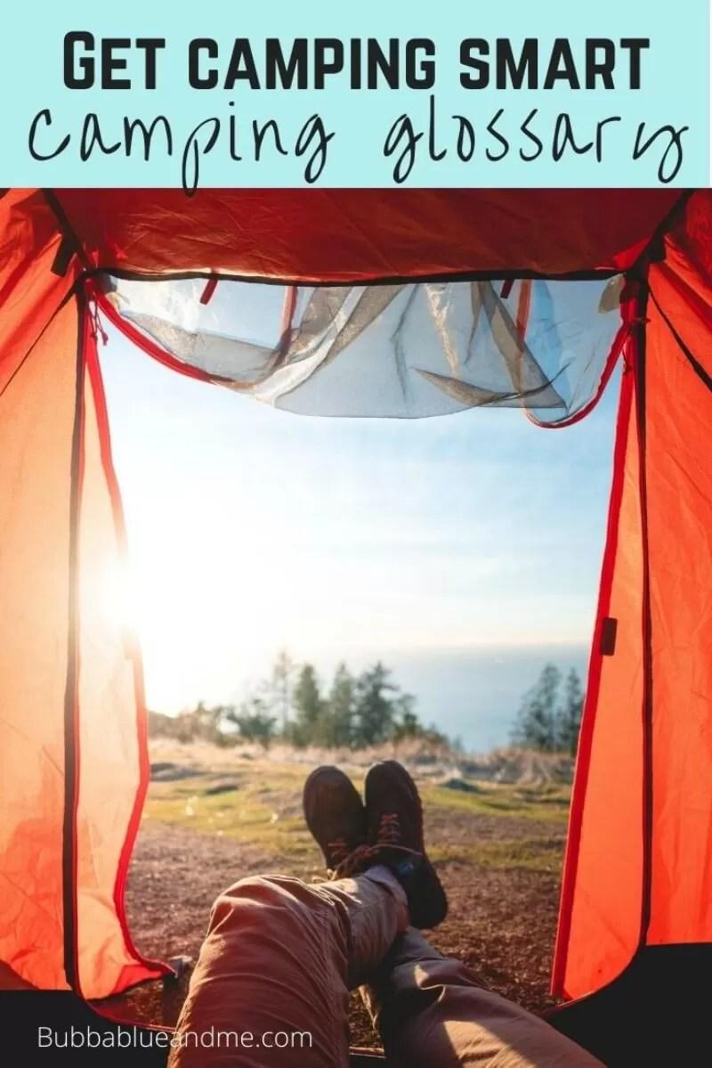 camping glossary