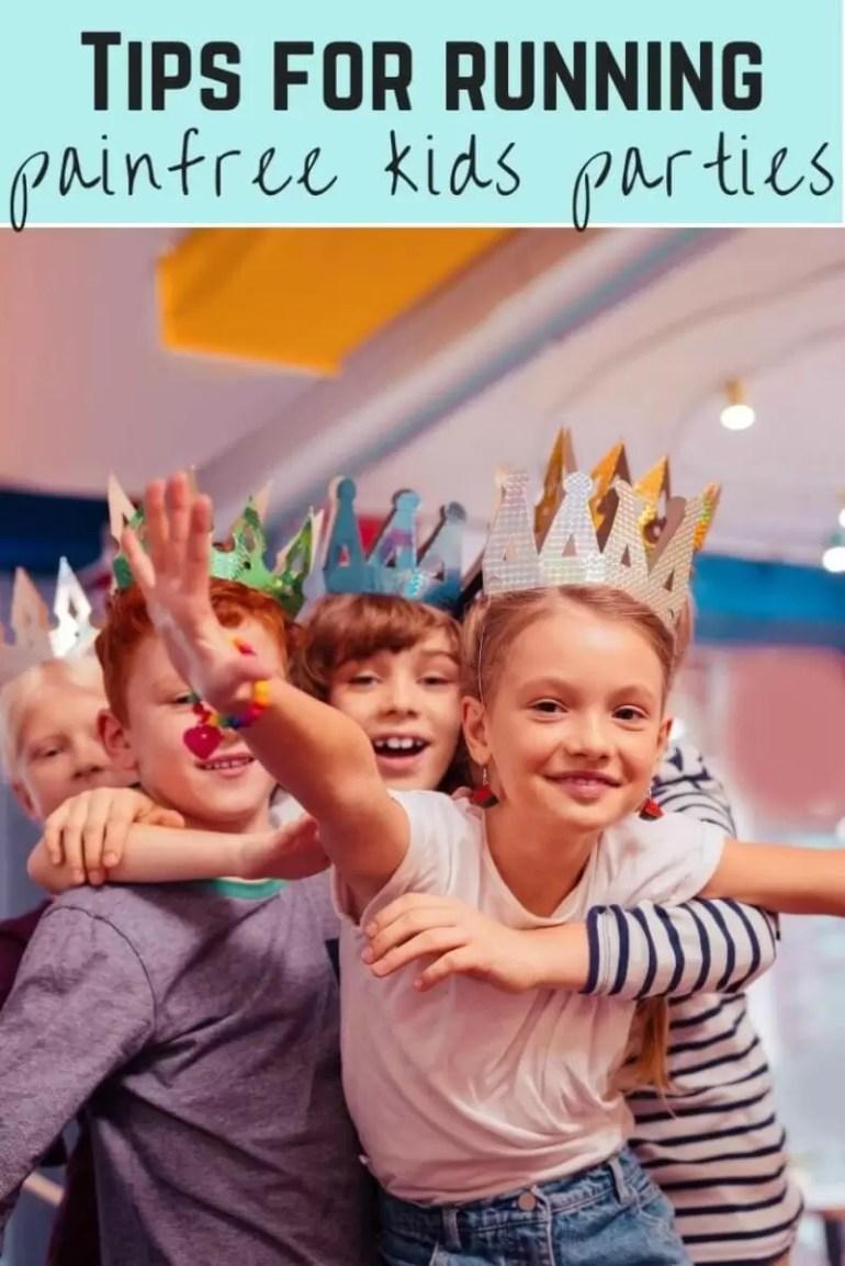 running childrens parties