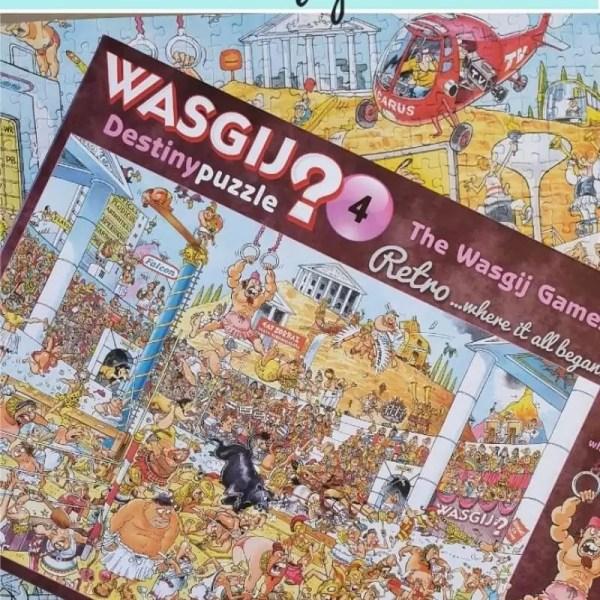 Wasgij Destiny 4 The Wasgij Games solution
