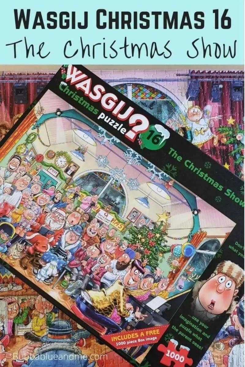 Wasgij Christmas 16 Christmas show puzzle