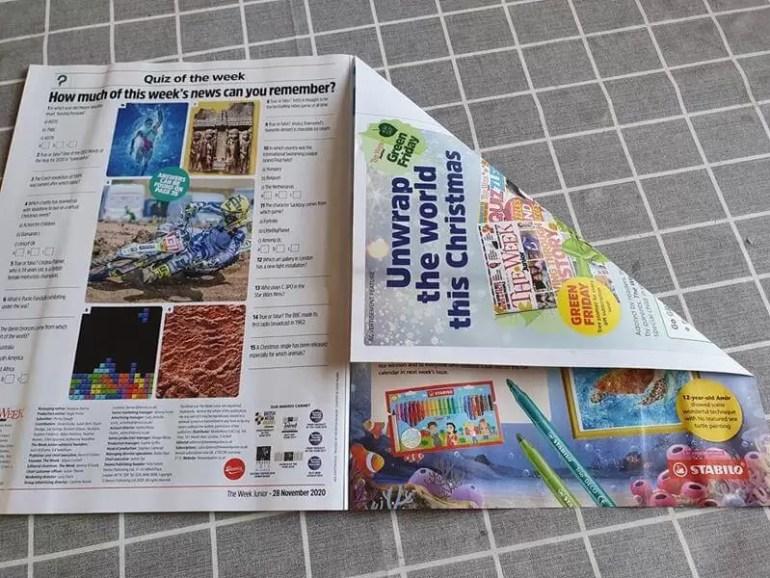 fold 1 of magazine folding