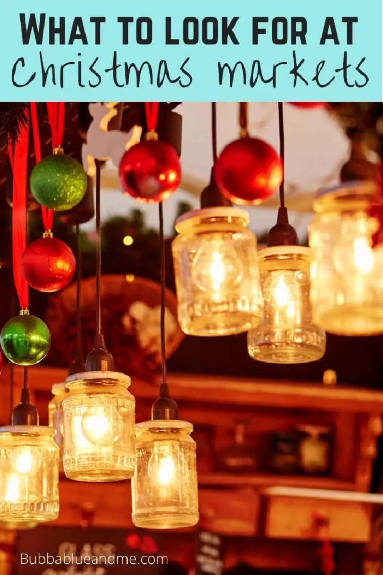 what to look for at christmas markets
