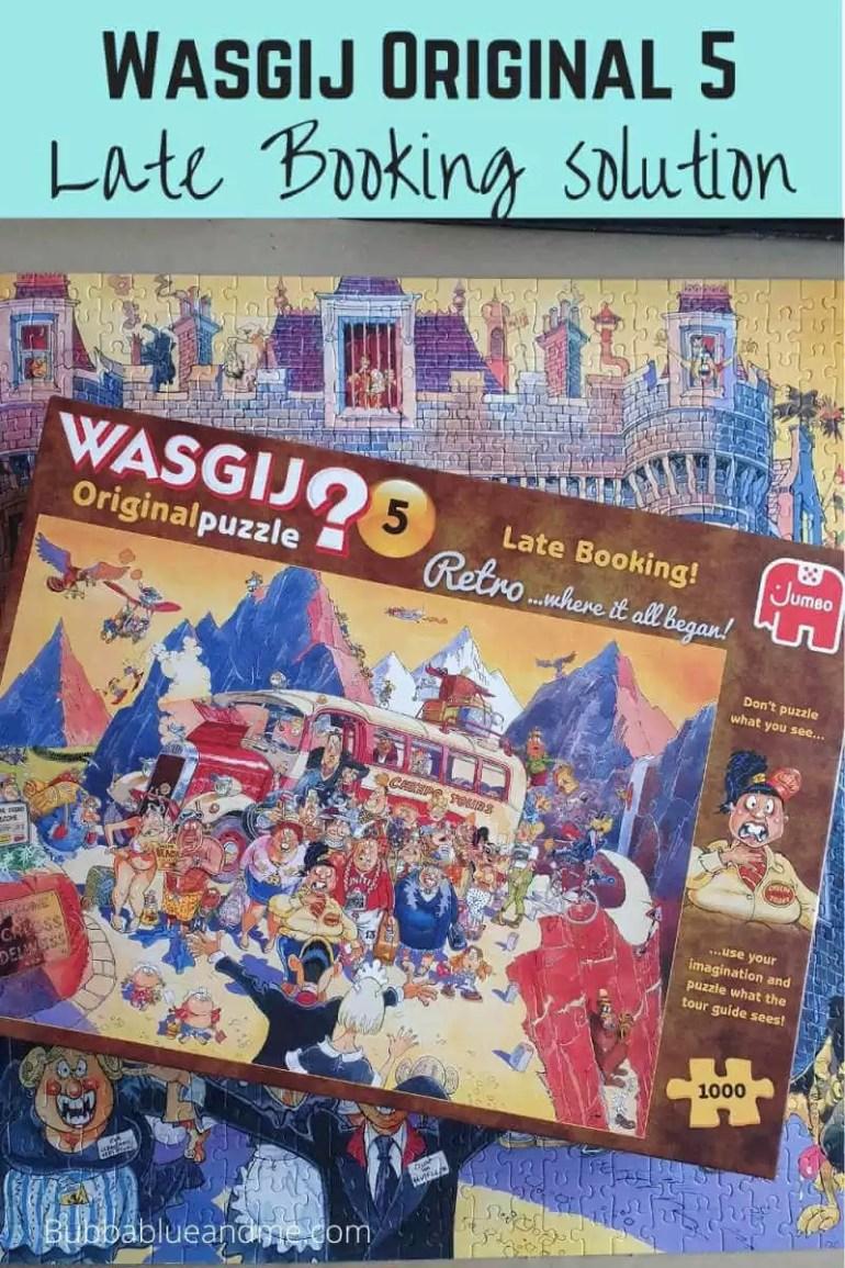 Wasgij original 5 late booking solution