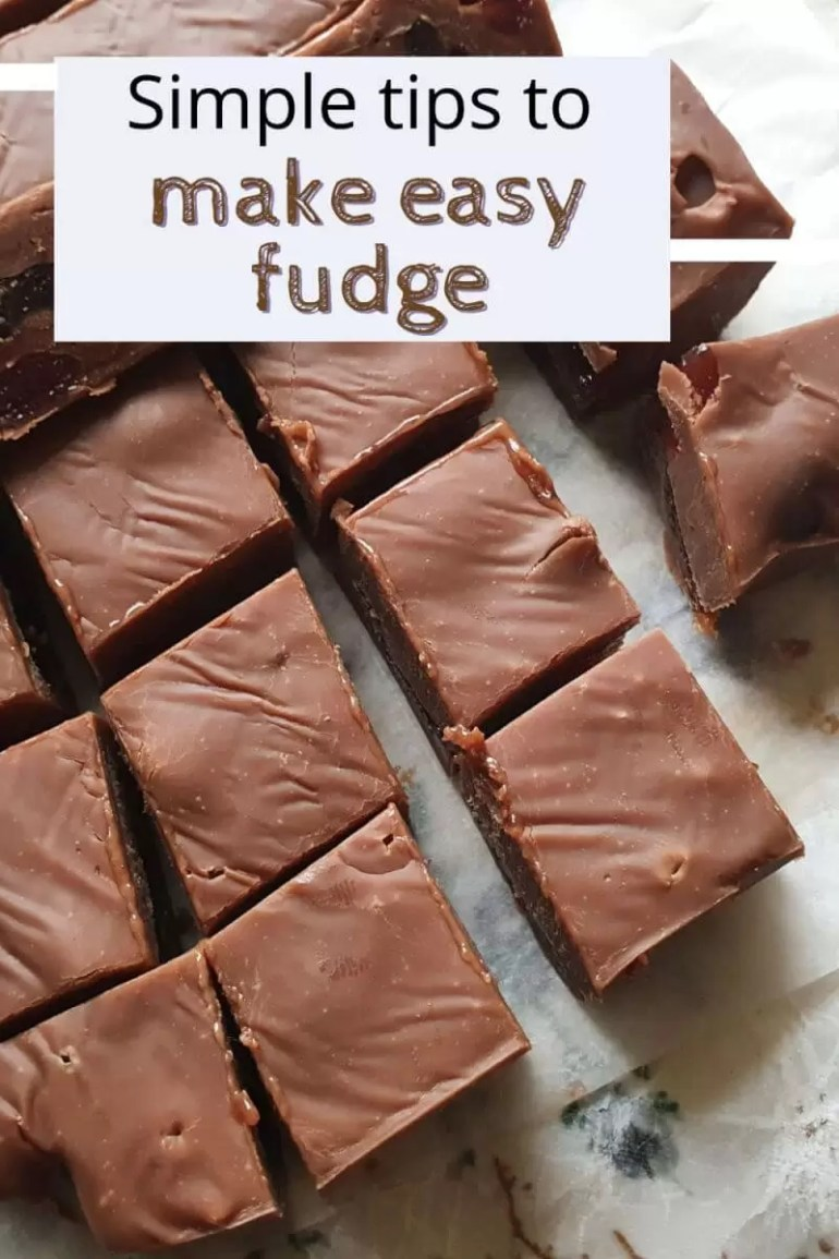 simple tips to make easy fudge