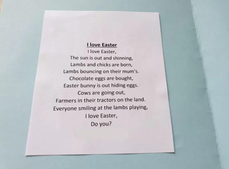 I love Easter poem (1)