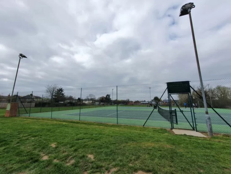 Return to post lockdown tennis