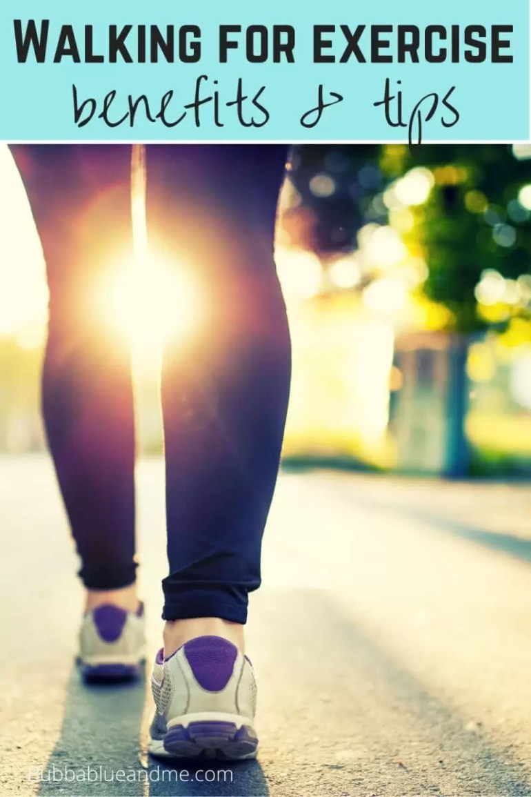Walking for exercise benefits and tips