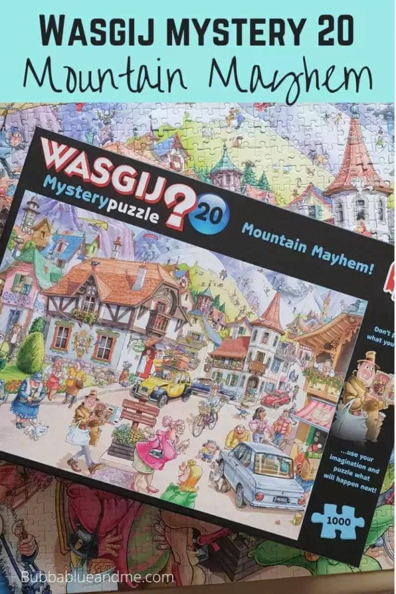 Wasgij mystery 20 mountain mayhem blog