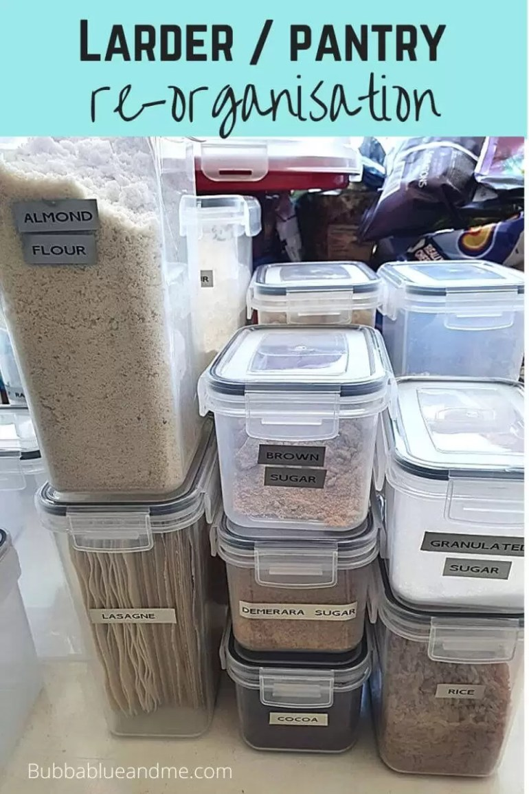 pantry erorganisation