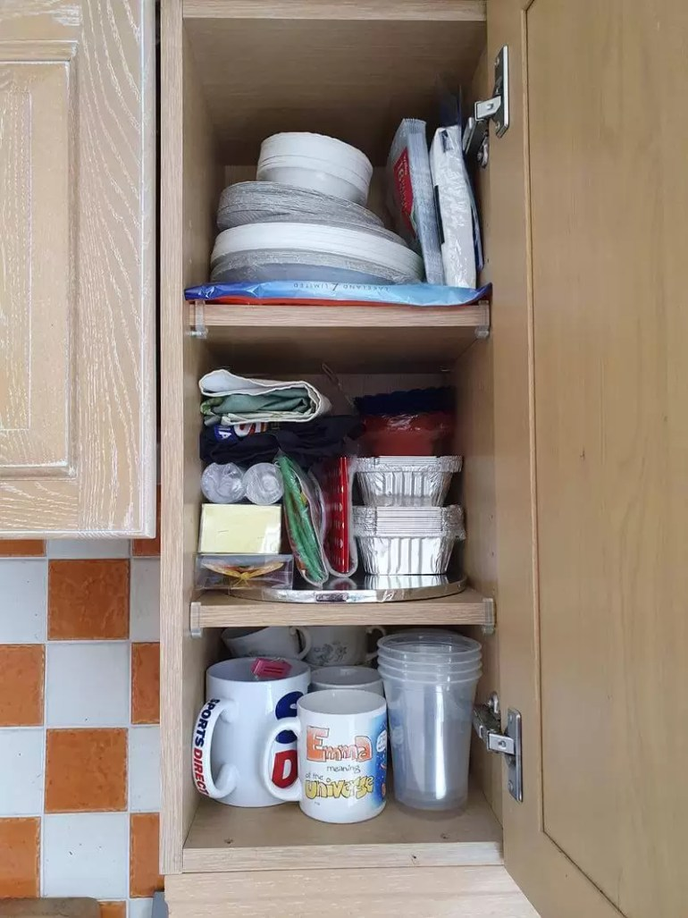 party and seasonal cupboard