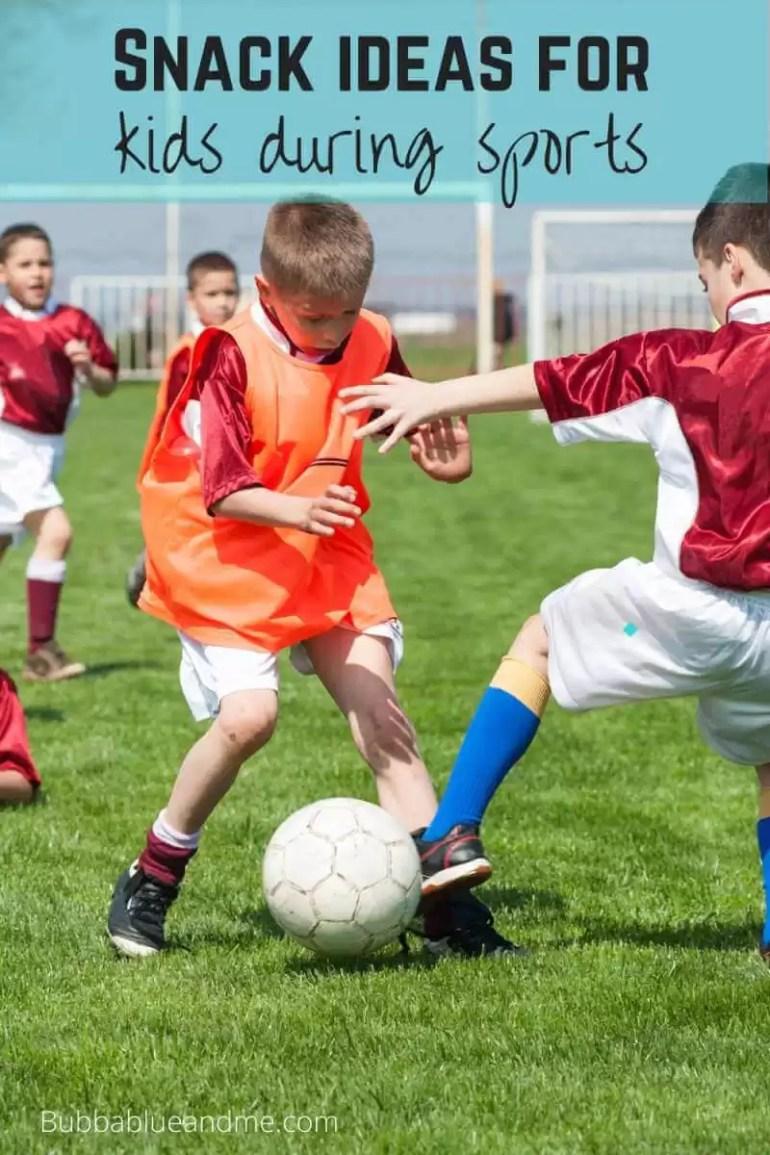 snack ideas for sporty kids