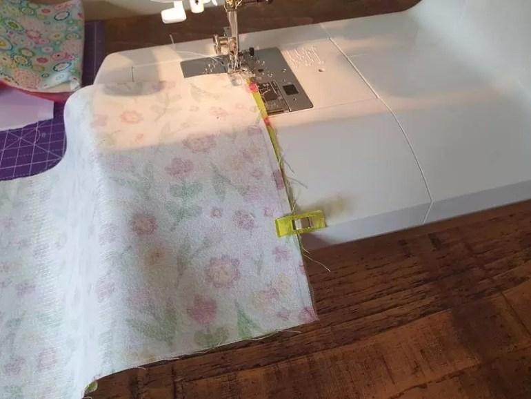 sew short edges