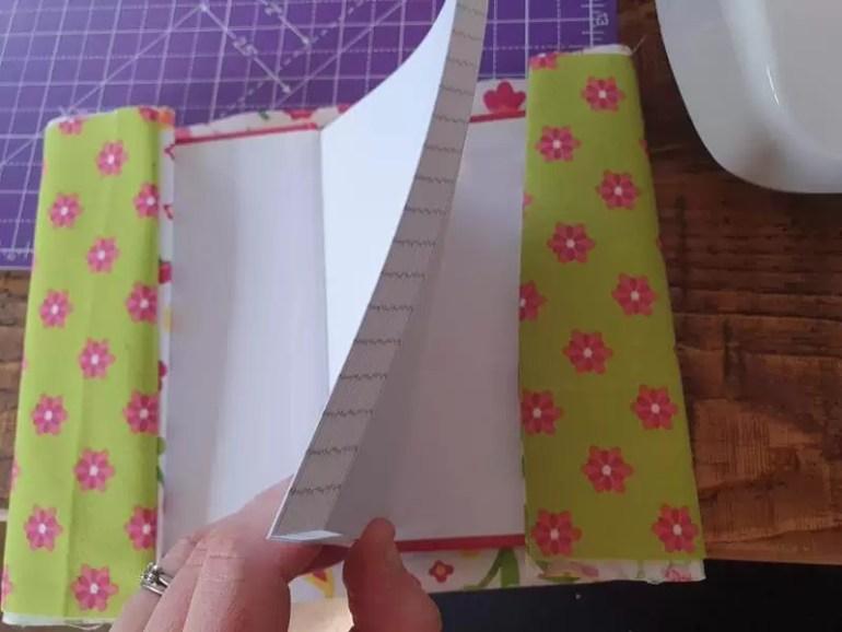wrap around notebook