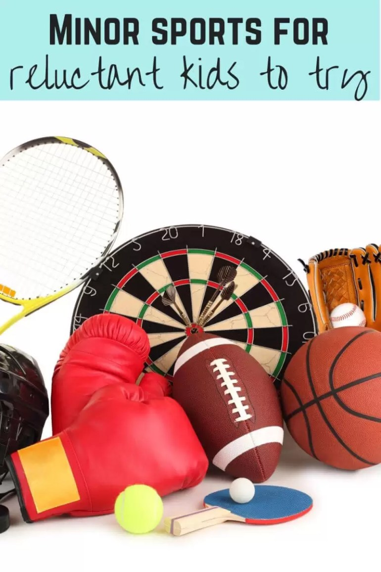 Minor sports ideas for reluctant kids to try