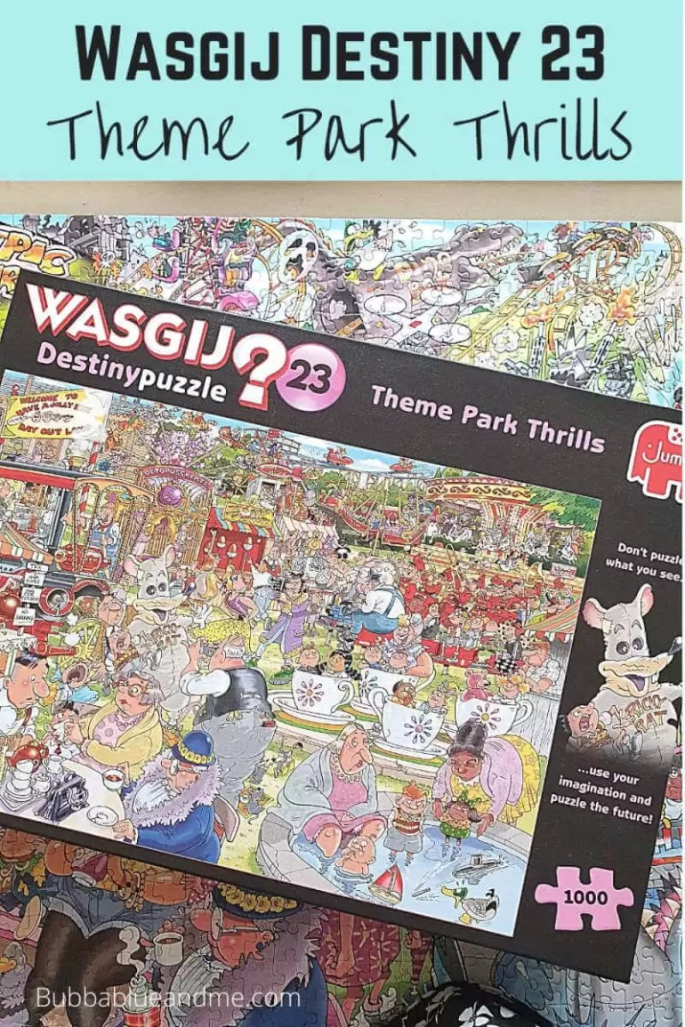 Wasgij destiny 23 theme park thrills