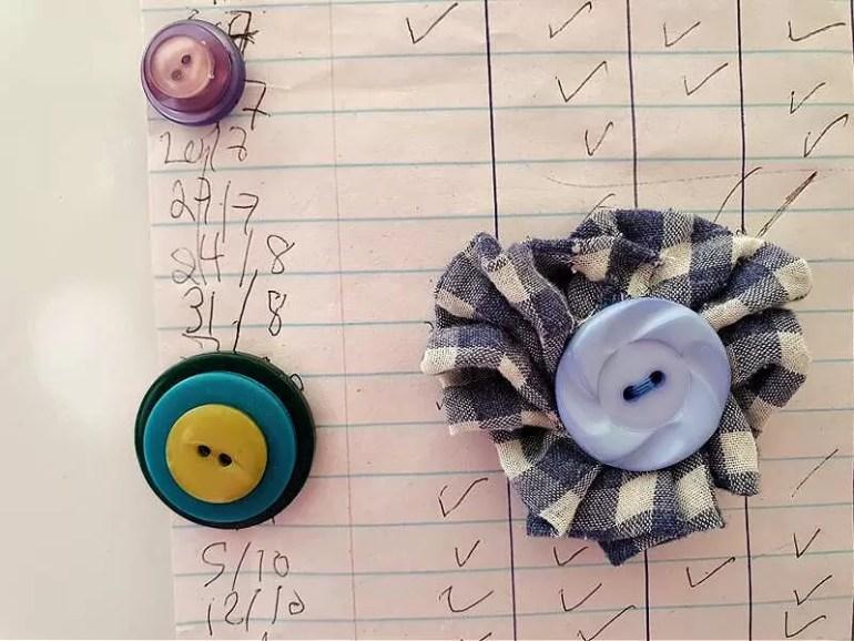 pretty DIY magnets