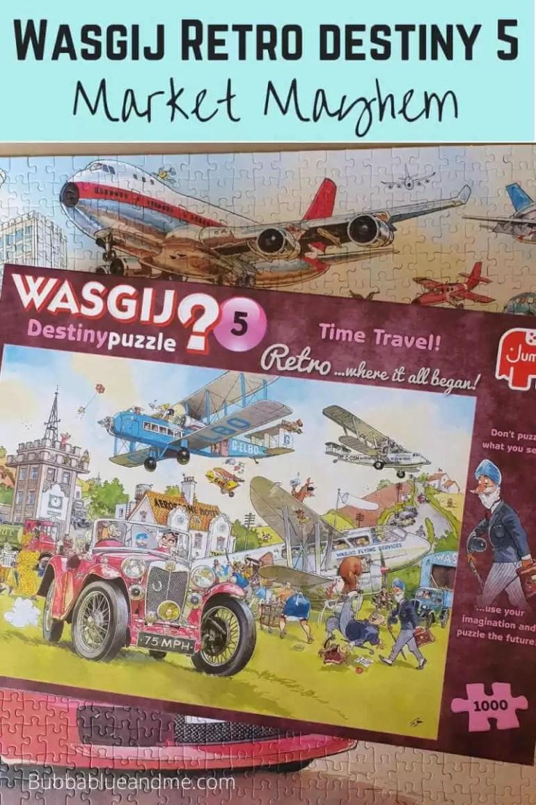 Wasgij retro destiny 5 Time Travel puzzle soluion