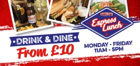 Drink and Dine from £10