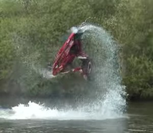 Ant Burgess World Champion Jetski