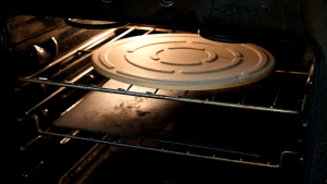 pizza steel and a pizza stone