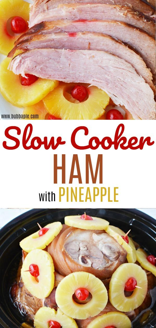 slow cooker ham pin