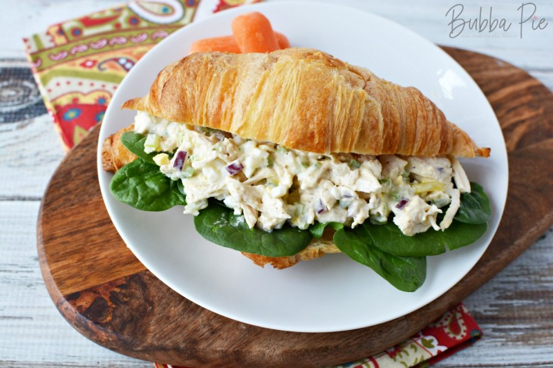 Southern Chicken Salad Recipe is perfect for a make ahead lunch or picnic