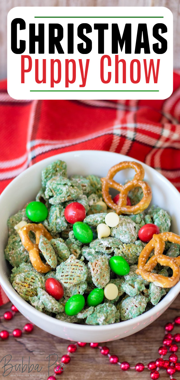 Christmas Puppy Chow Pin 1