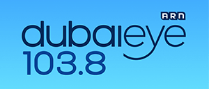 Dubai Eye 103.8 logo - from our discussion about sodas vs sparkling water