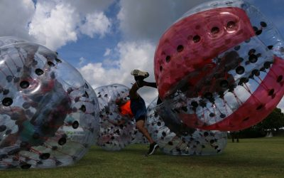 How to Find People to Play Bubble Soccer