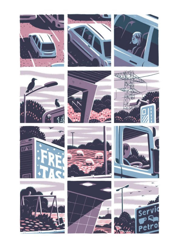 L'été à Kingdom Fields. Jon McNaught, Dargaud