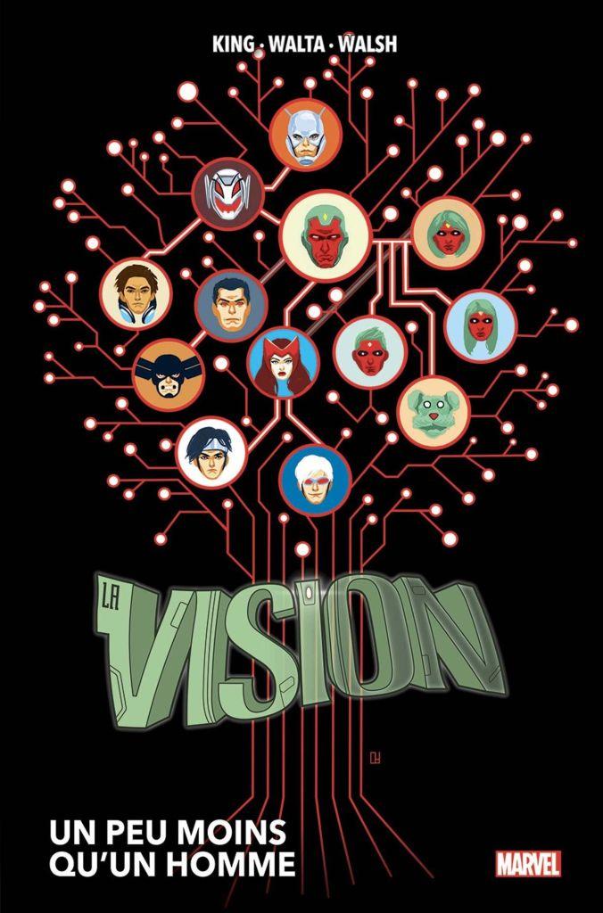Vision : Un Peu Moins Qu'un Homme de Tom King, Jordie Bellaire & Gabriel Hernández Walta