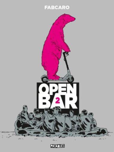 Open Bar - 2ème tournée T2 de Fabcaro, Delcourt