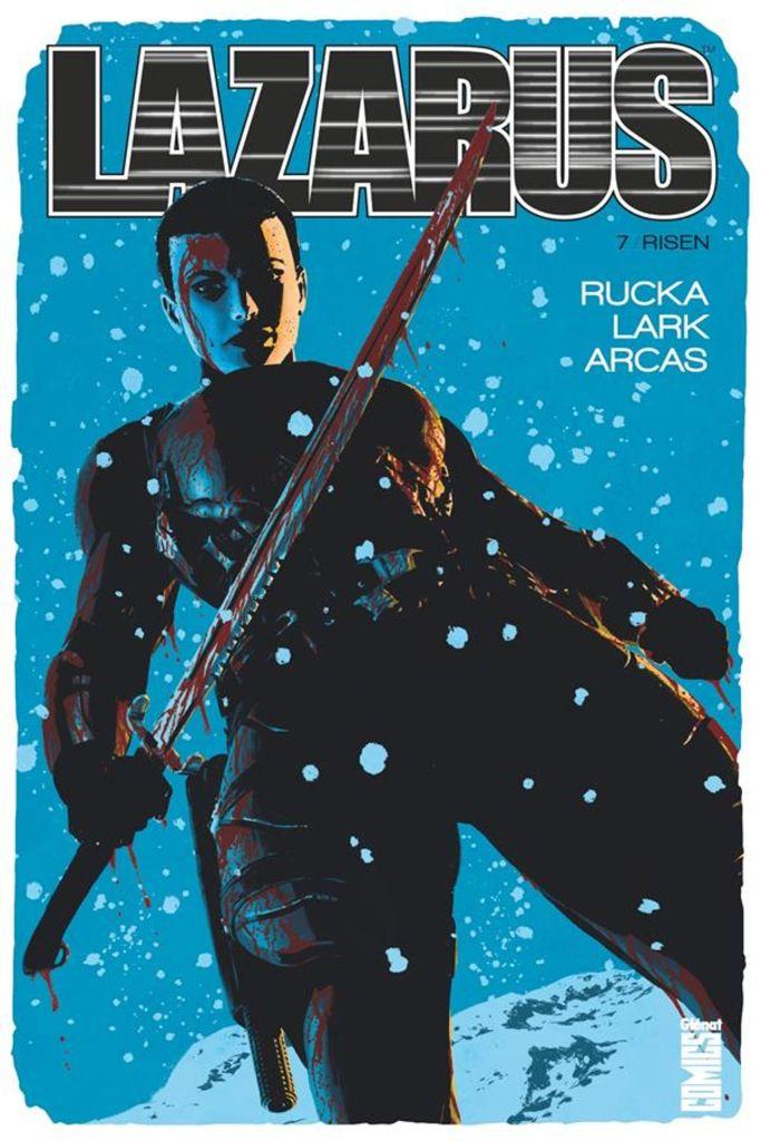 Lazarus de Greg Rucka & Michael Lark, Glénat Comics